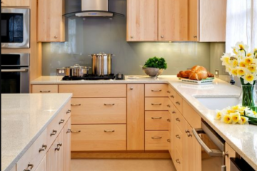 10 mẫu tủ bếp gỗ sồi Nga đẹp phù hợp cho căn bếp mọi ngôi nhà