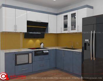 Tủ bếp gỗ MFC An Cường – MFCAC02 là mẫu tủ bếp gỗ công nghiệp cao cấp được nhiều người ưa chuộng sử dụng bởi chất liệu thân thiện với môi trường và tạo cảm giác thư thái cho người dùng.