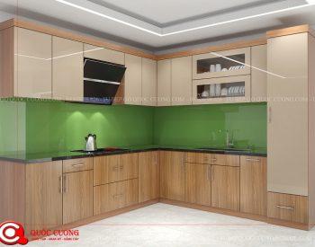 Tủ bếp gỗ MFCML01 là mẫu tủ bếp gỗ công nghiệp thân thiện với môi trường và có các ưu điểm vượt trội như khả năng chịu nhiệt tốt, khả năng chống ẩm, mối mọt cao và an toàn với người sử dụng.