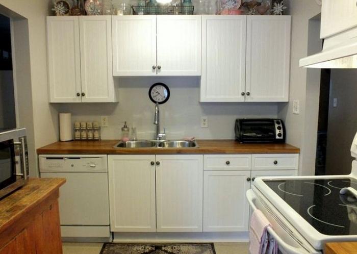 Địa chỉ thiết kế mẫu tủ bếp gỗ melamine đẹp chất lượng