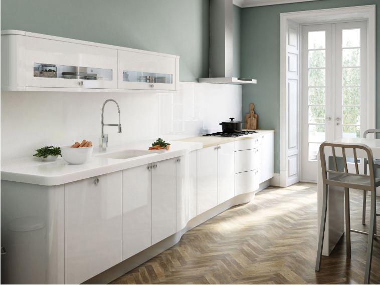 Thiết kế mẫu tủ bếp gỗ acrylic cho mọi không gian nhà bếp