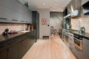 Tủ bếp gỗ acrylic hàng nhập khẩu chất lượng cao