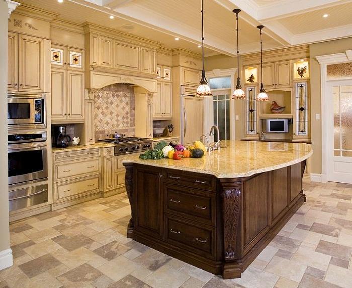 Tủ bếp gỗ Laminate đẹp thanh lịch cho căn bếp nhỏ nhà bạn