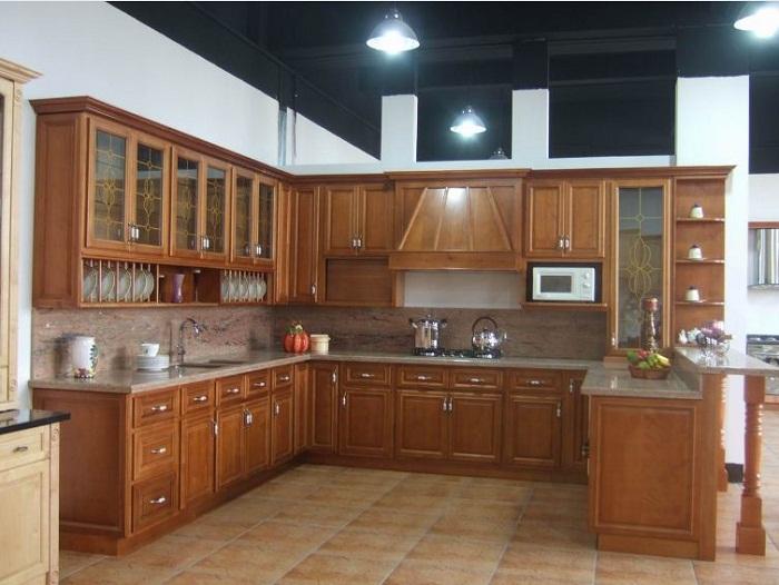 Tủ bếp gỗ mfc giá thành rẻ chất lượng cao