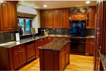 Mẫu tủ bếp gỗ mfc giá thành rẻ chất lượng cao