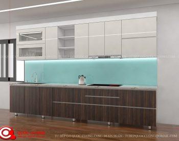 Tủ bếp gỗ Laminate Quốc Cường đẹp nhất Tu-bep-go-laminate-l18-350x275