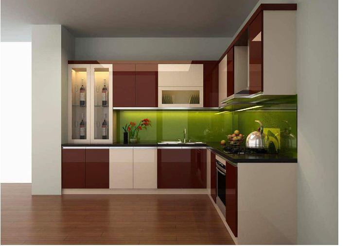 Những lợi ích tuyệt vời khi bạn thiết kế tủ bếp acrylic không cần tay nắm