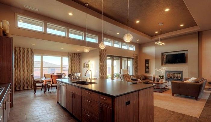 Phong cách thiết kế tủ bếp gỗ đang được ứng dụng phổ biến hiện nay