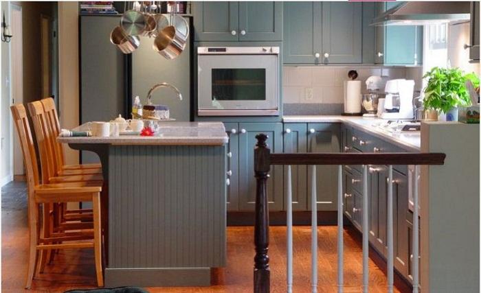 Tủ bếp gỗ công nghiệp đa dạng màu sắc hiện đang là lựa chọn số 1 hiện nay