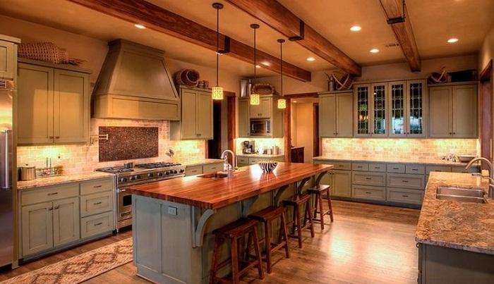 Thiết kế tủ bếp gỗ và kích thước chuẩn bạn cần nắm