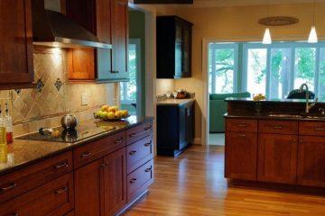 Tủ bếp gỗ công nghiệp laminate được đánh giá cao