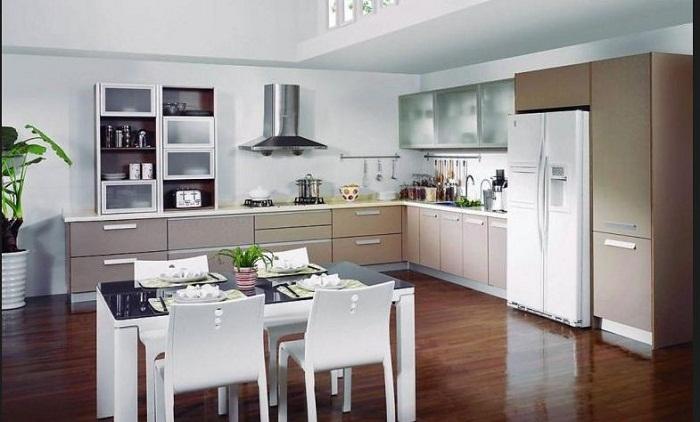 Tư vấn thiết kế và thi công tủ bếp gỗ đẹp khu vực Hà Nội