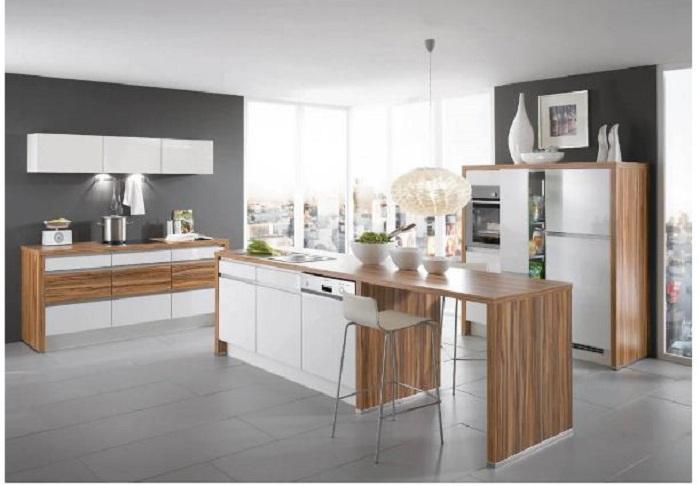 Vì sao bạn nên lựa chọn mẫu tủ bếp laminate cao cấp
