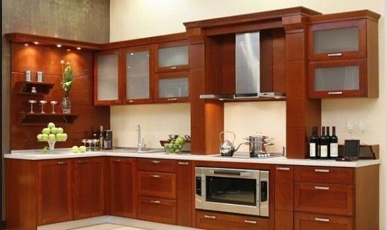 5 lý do bạn nên làm tủ bếp gỗ căm xe