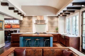 Mẫu tủ bếp đẹp hiện đại dành cho không gian nhà phố