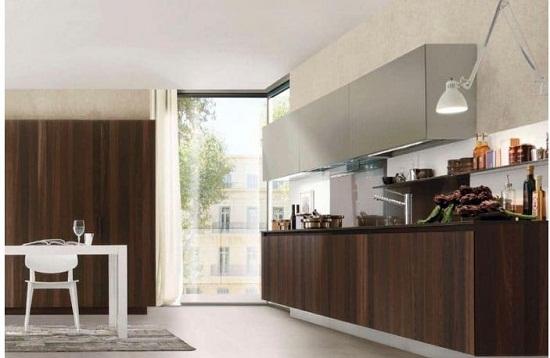 Những mẫu tủ bếp gỗ công nghiệp laminate chữ I giá rẻ