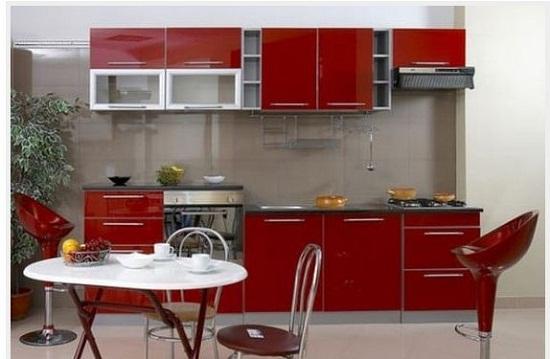 nhung mau tu bep go cong nghiep chu i laminate gia re 7 - Top 35 mẫu tủ bếp gỗ công nghiệp đẹp hiện đại 2019