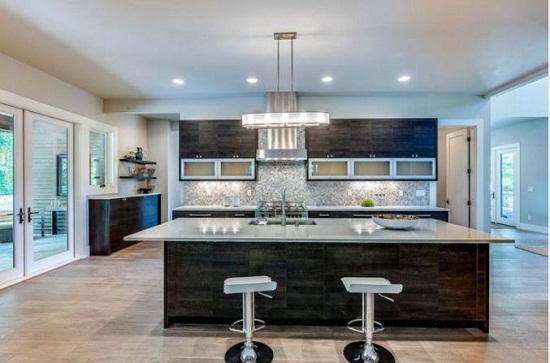Nội thất tủ bếp đẹp có thiết kế tinh tế