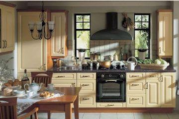 Thiết kế tủ bếp gỗ theo phong cách cổ điển xu hướng của năm 2018