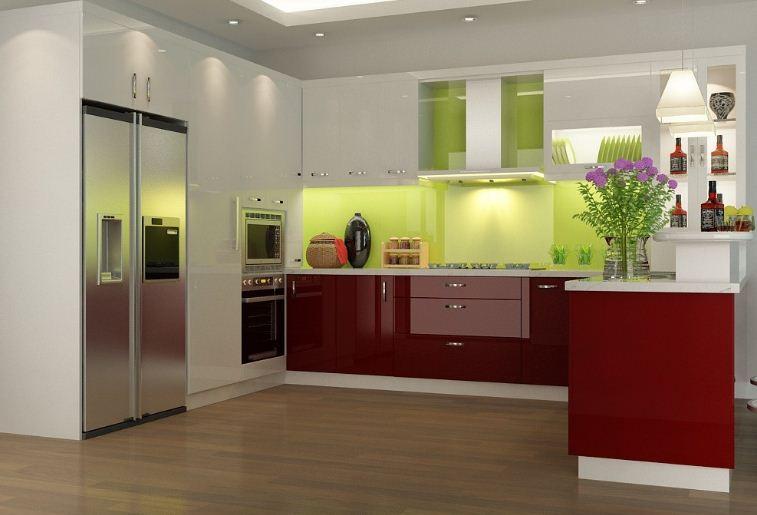 Có nên làm tủ bếp chất liệu acrylic hay không?
