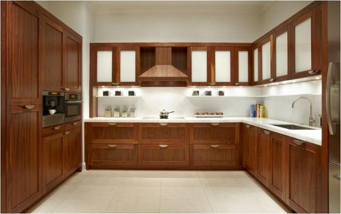 Cơ sở sản xuất tủ bếp gỗ tự nhiên tủ bếp gỗ công nghiệp