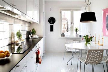 Mẫu tủ bếp màu trắng xu hướng lên ngôi của năm 2018-2019