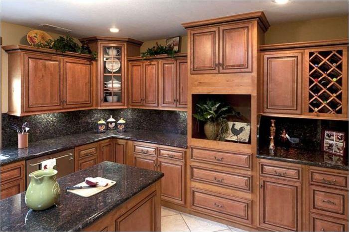 Những mẫu tủ bếp cổ điển đẹp dành cho nhà biệt thự