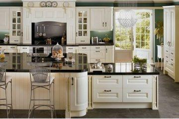 Những mẫu tủ bếp cổ điển đẹp giá rẻ chất lượng cao