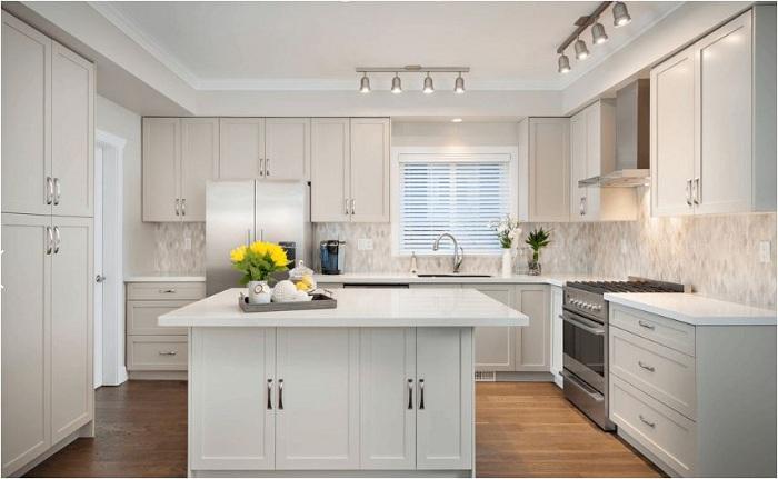 Những mẫu tủ bếp đẹp được làm bằng chất liệu laminate