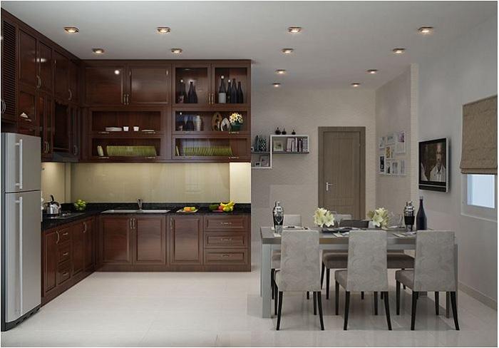 Nội thất tủ bếp đẹp với đa dạng chất liệu và mẫu mã thiết kế khác nhau