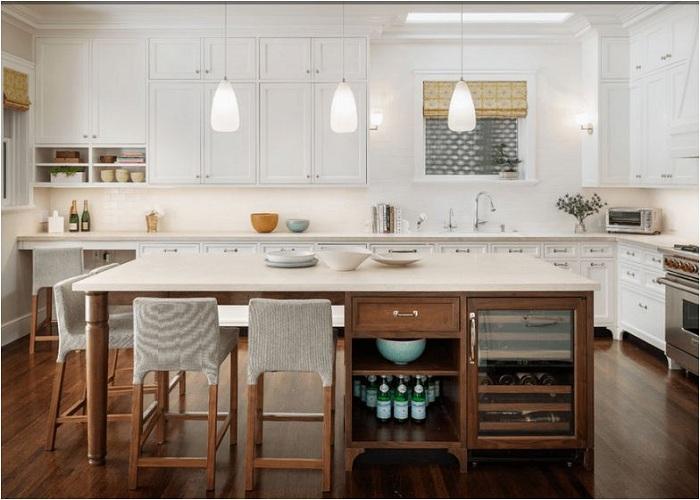 Thiết kế tủ bếp đẹp theo phong thủy xu hướng được quan tâm nhất 2018