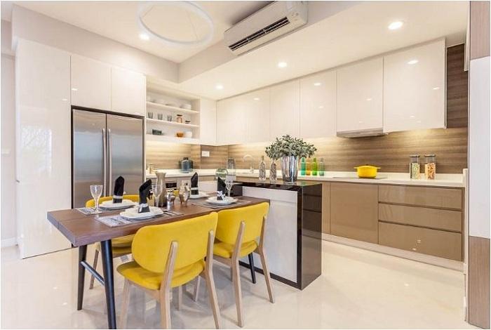 tu bep acry lic go cong nghiep nhung diem 10 cho chat luong 5 - Top 35 mẫu tủ bếp gỗ công nghiệp đẹp hiện đại 2019