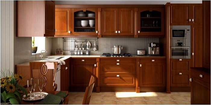 Tủ bếp gỗ nên chọn loại nào tốt nhất hiện nay