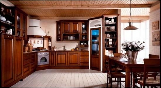 Tủ bếp gỗ tự nhiên xu hướng lựa chọn của phần đông khách hàng