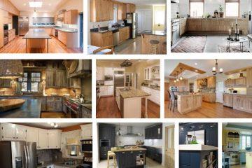 TOP 40 Mẫu tủ bếp gỗ tự nhiên đẹp mới nhất