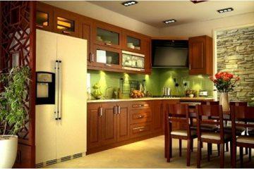 Hướng dẫn cách bảo quản tủ bếp gỗ và phụ kiện tủ bếp