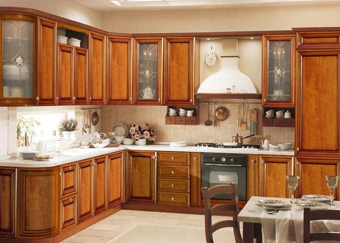 Thiết kế tủ bếp chữ L mẫu phổ biến nhất tại phòng bếp gia đình việt hiện nay