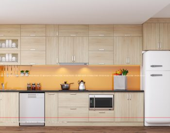 Tủ bếp gỗ MFC An Cường – MFCAC12 là mẫu tủ bếp gỗ công nghiệp cao cấp nhập khẩu An Cường với chất liệu thân thiện với môi trường tạo cảm giác dễ chịu, thư thái cho người dùng.