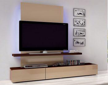 Kệ Tivi phòng khách gỗ Acrylic An Cường - KTV-11