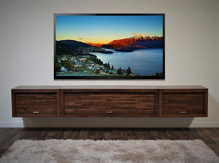 Kệ Tivi phòng khách gỗ tự nhiên - KTV-12