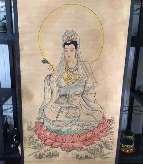 treo tranh Phật, Bồ tát cũng là để mang đến sự lành cho mọi người