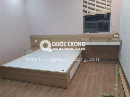 Công trình 24: tủ bếp - giường ngủ Acrylic