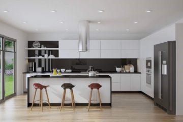 Tủ bếp âm tường xu hướng tủ bếp hot nhất hiện nay