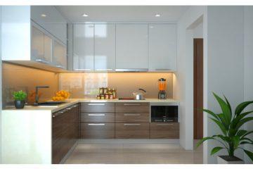 Tủ bếp hai tầng món đồ nội thất không thể thiếu cho gian bếp hiện đại