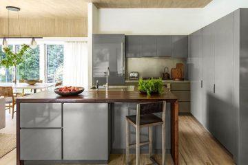 Những thiết kế độc đáo của tủ bếp MDF lõi xanh