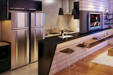 Những lưu ý khi lựa chọn tủ bếp chung cư hiện đại
