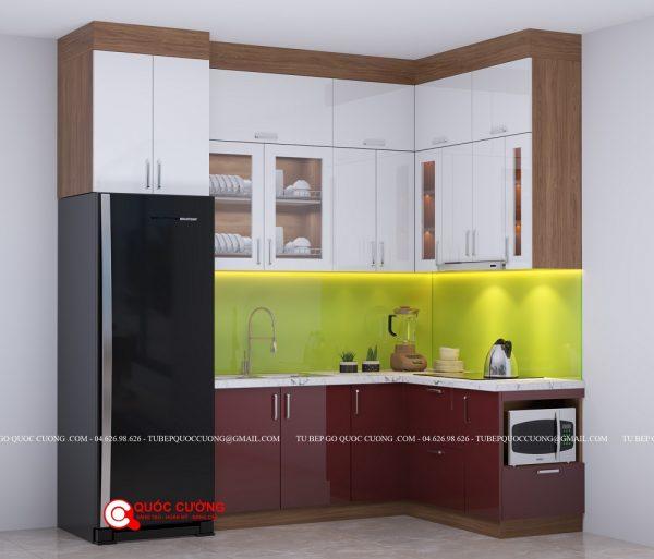 Tủ bếp Laminate - L21
