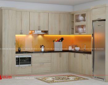 Tủ bếp Laminate - L22