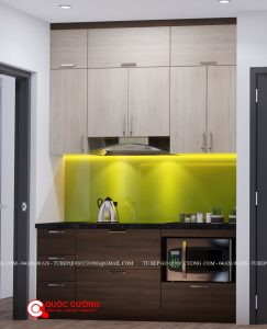 Tủ bếp Laminate - L24