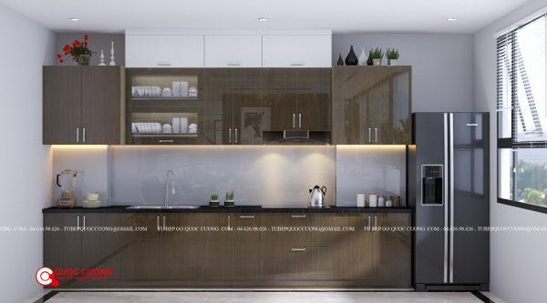 Tủ bếp Acrylic - AR49